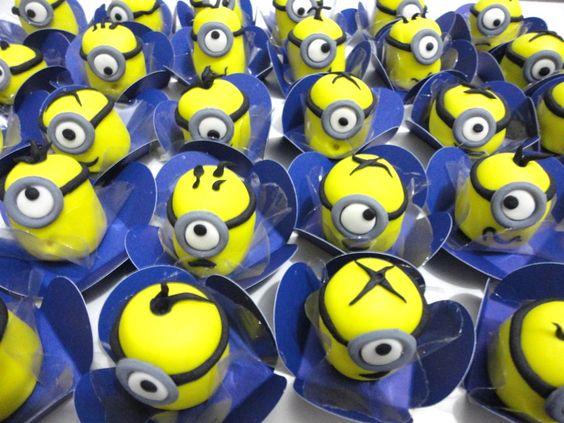 festa dos minions - doces dos minions