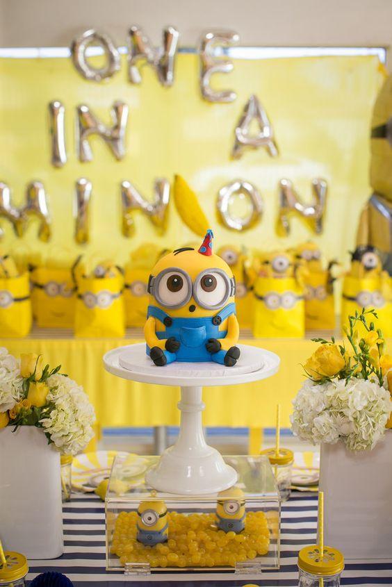 festa dos minions - festa completa dos minions