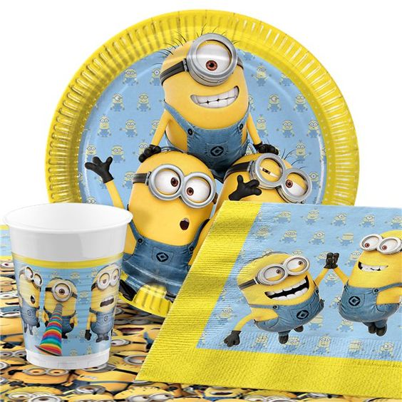 festa dos minions - itens para festa dos minions