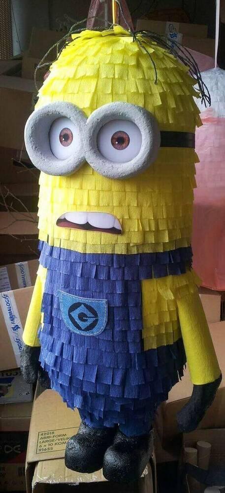 festa dos minions - piñata grande dos minions