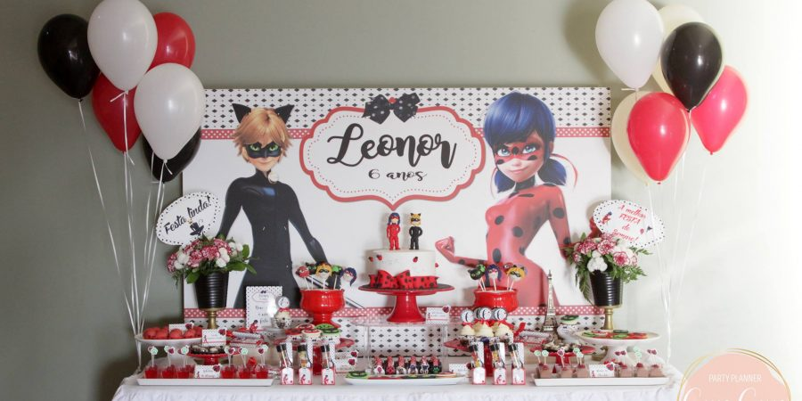 Festa Miraculous: As aventuras de ladybug e cat noir