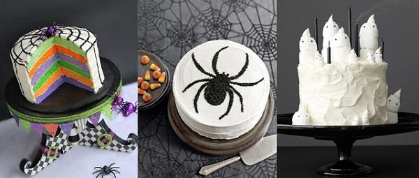 Modelos de bolo de Halloween criativos