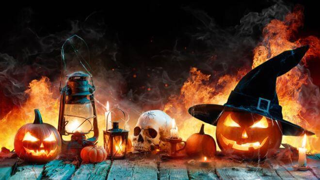 origem do halloween