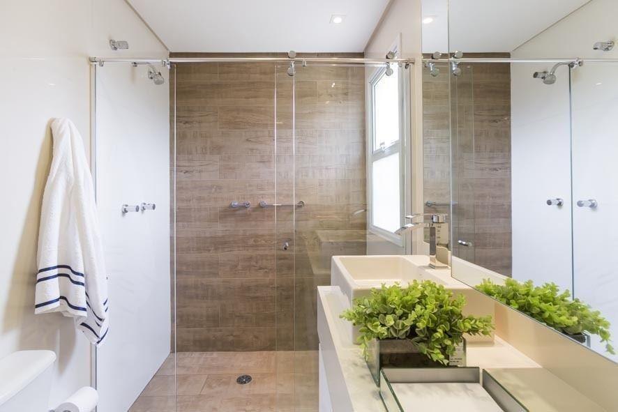 janela para banheiro - banheiro com cuba quadrada