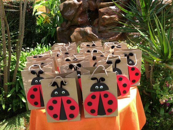 Lembrancinhas para festa ladybug