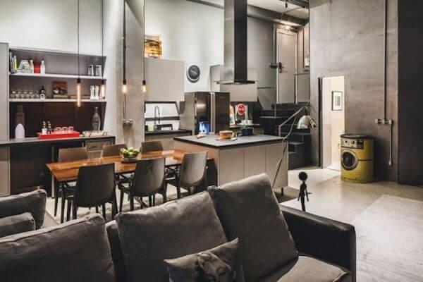 Loft decorativa e super aconchegante