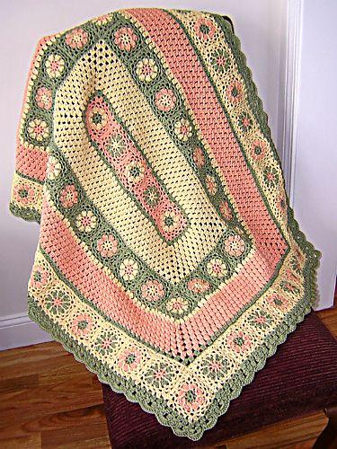 manta de crochê - manta colorida clara para poltrona