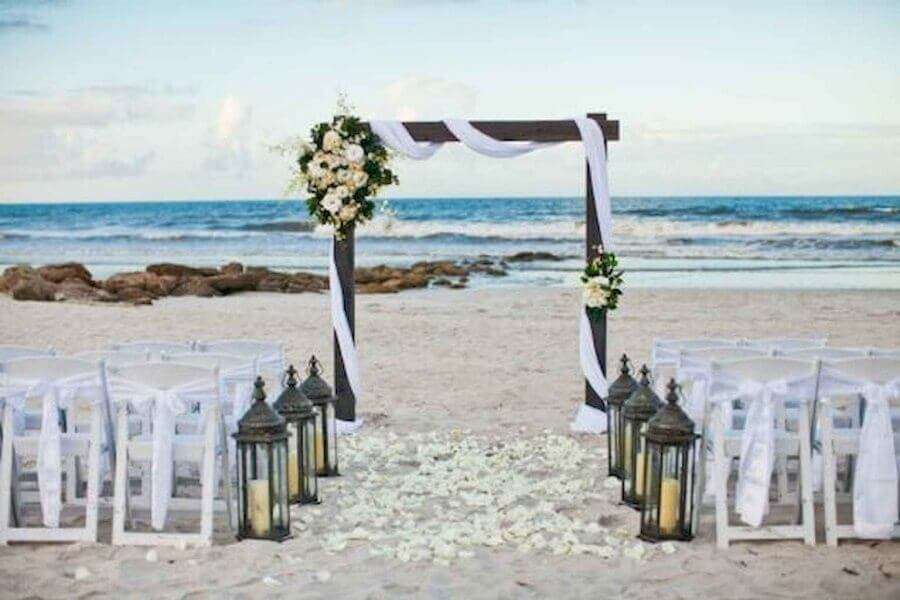 mini wedding na praia Foto Worldecor