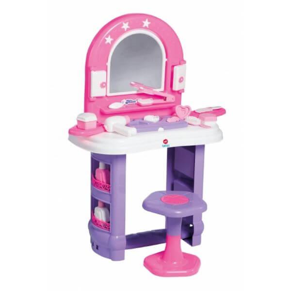 Penteadeira infantil de brinquedo para meninas