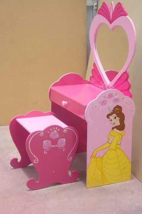 Penteadeira infantil princesas