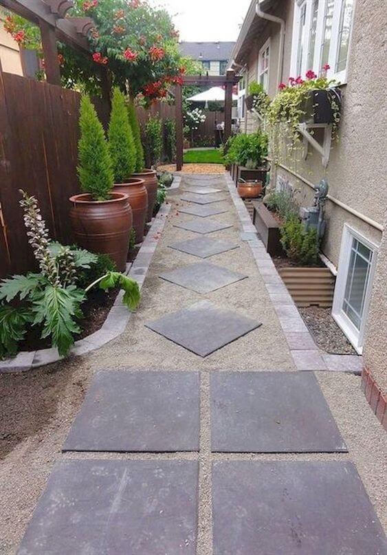 Piso antiderrapante para quintal