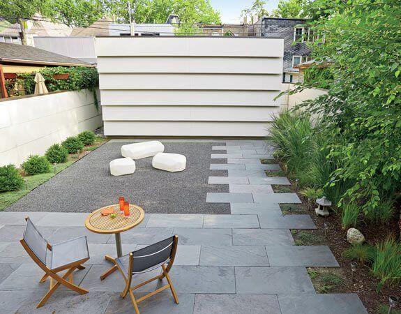 Pisos para garagem e quintal