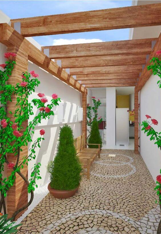 pisos para quintal