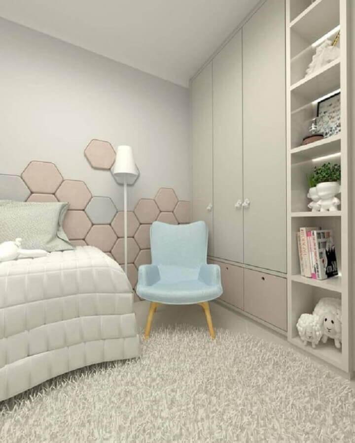 poltrona pequena para quarto moderno Foto Dicas Decor