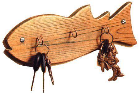 porta chaves de peixe