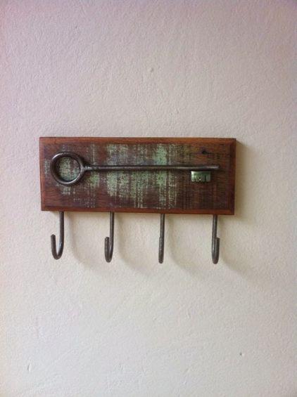 porta chaves rústico simples