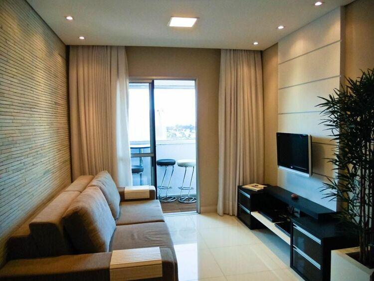 sofá para apartamento - sala de estar pequena