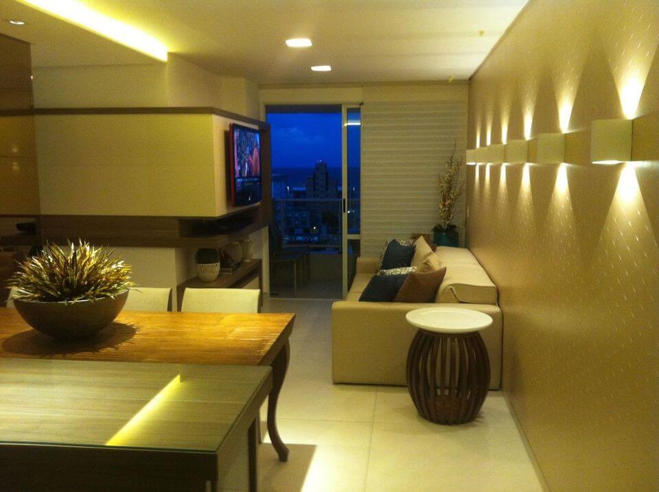 sofá para apartamento - sala pequena de apartamento