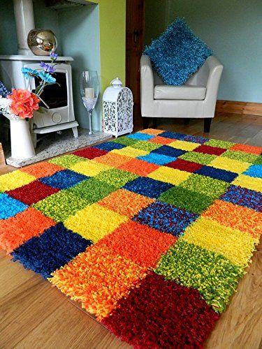 tapete medusa - tapete xadrez colorido