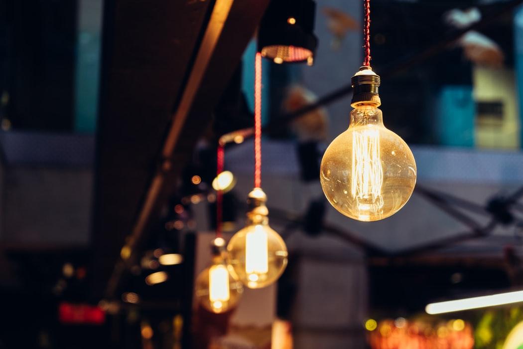 tipos de lâmpadas - lâmpadas de bulbo
