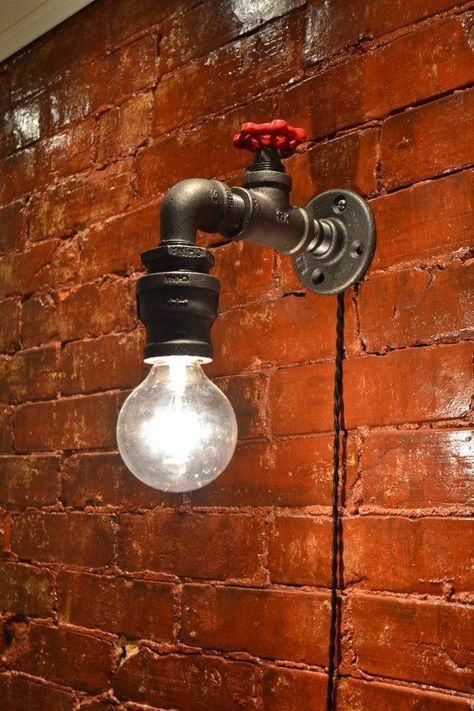 tipos de lâmpadas - luminária de torneira
