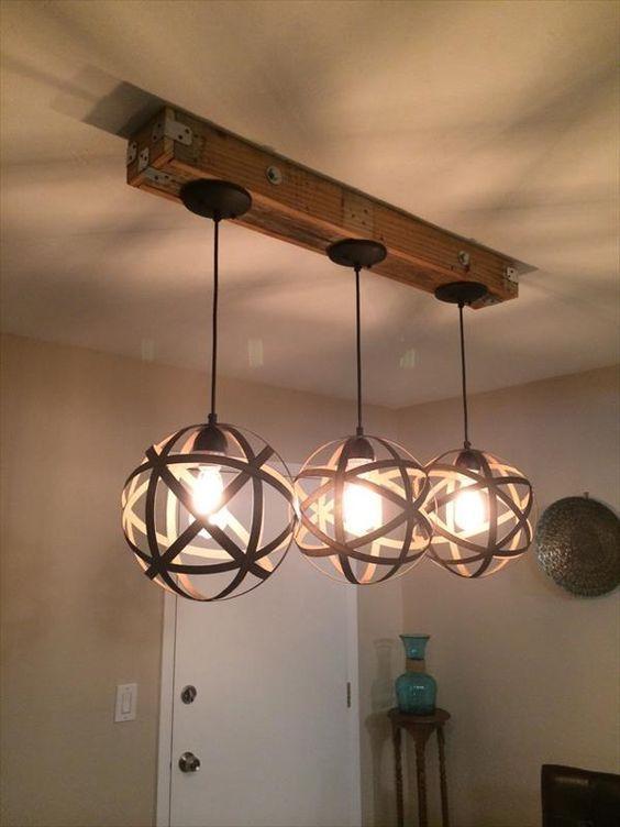 tipos de lâmpadas - pendentes circulares