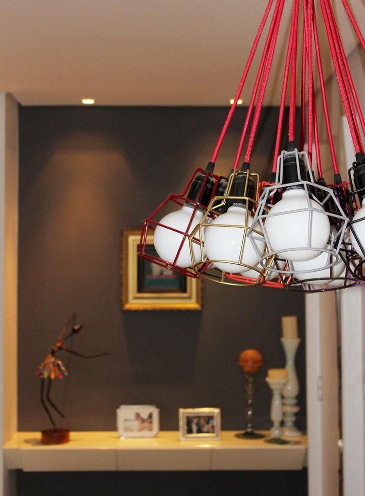 tipos de lâmpadas - pendentes de lâmpada coloridos