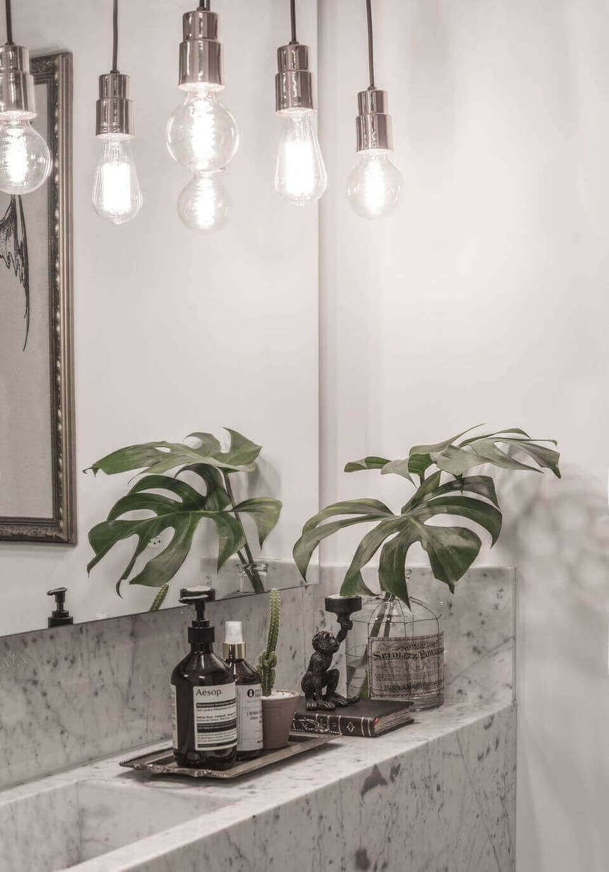 tipos de lâmpadas - pendentes de lâmpada prateado