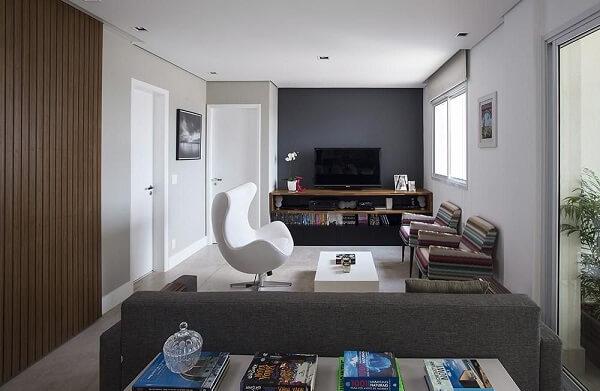 Poltronas decorativas para sala de tv