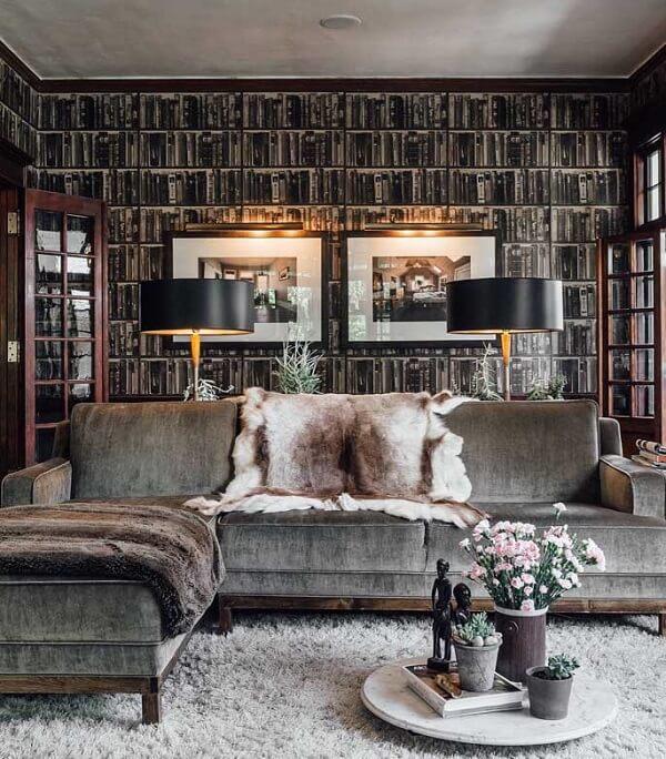 Tecido para sofá suede é pura sofisticação na decoração