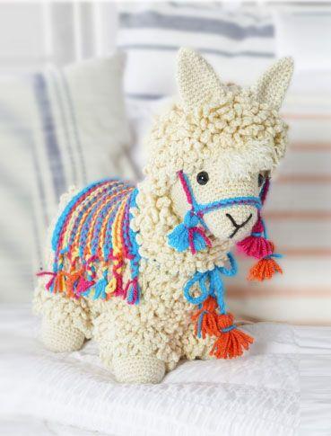 amigurumi - alpaca de amigurumi