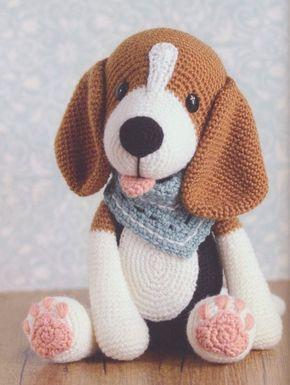 amigurumi - cachorro de amigurumi