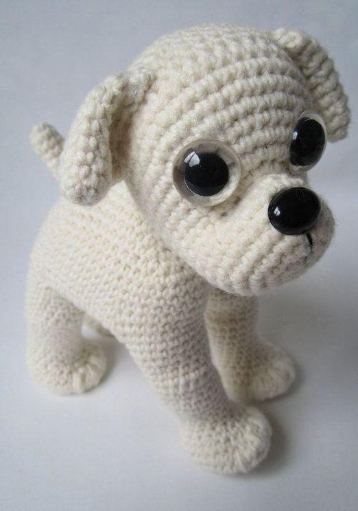 amigurumi - cachorro pequeno de amigurumi