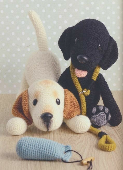 amigurumi - cachorros de amigurumi