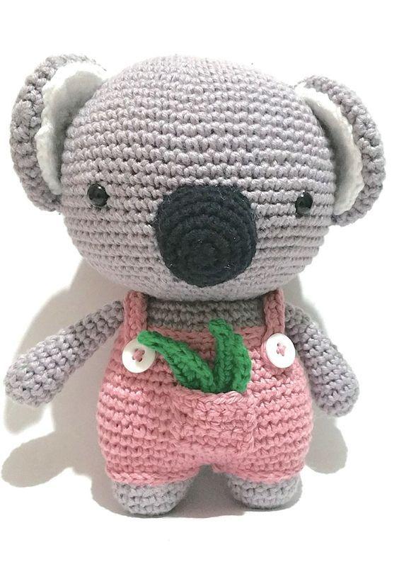 amigurumi - coala de amigurumi