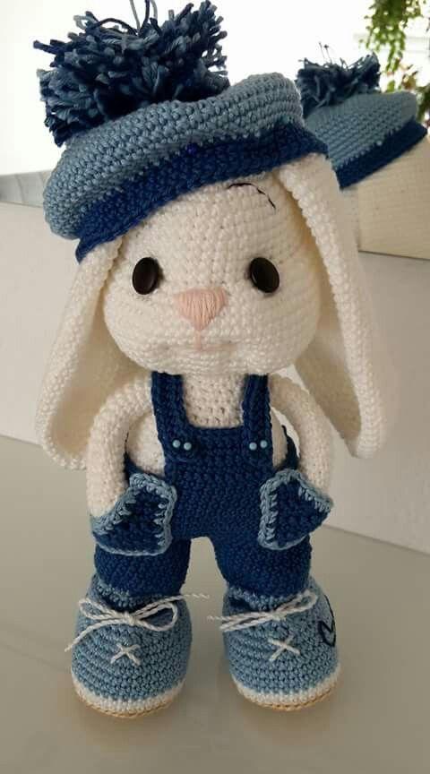 amigurumi - coelho de amigurumi