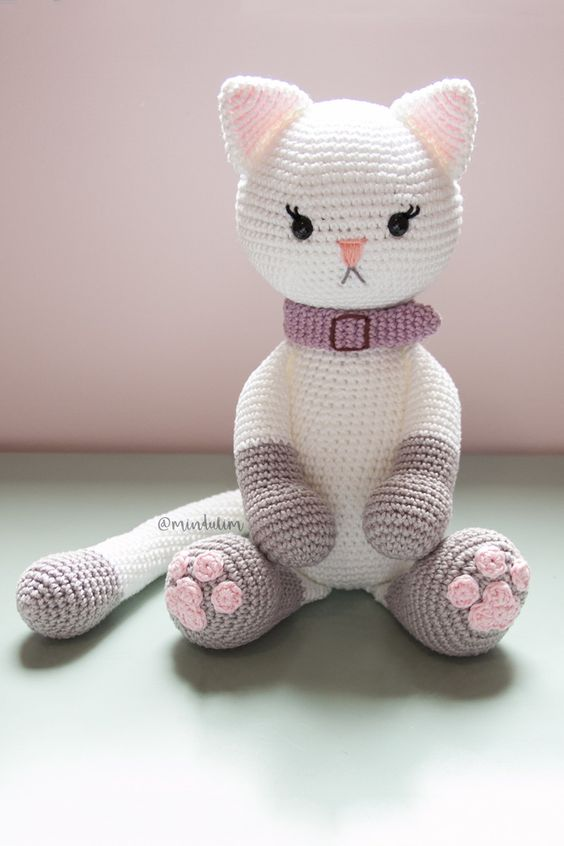 Cat Crochet Pattern, Kitten Crochet Pattern, Crochet, Crochet ... | 846x564