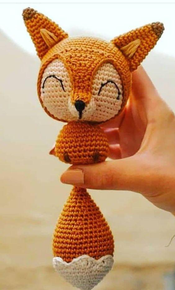 amigurumi - raposa de amigurumi