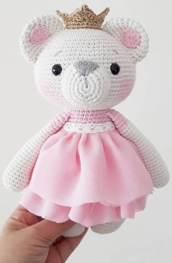 amigurumi - ursa de amigurumi