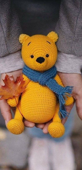 amigurumi - amigurumi yellow bear