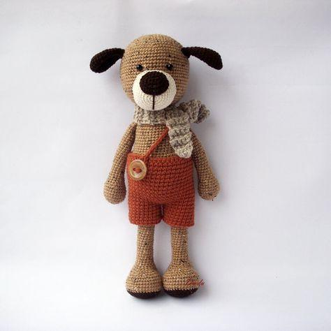 Urso grande de crochê no Elo7 | Caraminholas Croche (D74534) | 474x474