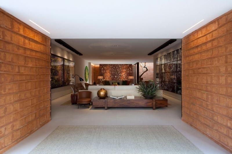 aparador de sofá - aparador baixo de madeira