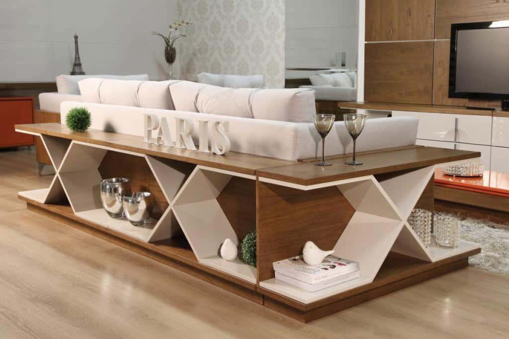 aparador de sofá - aparador com área para corpos