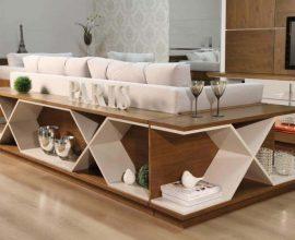 aparador de sofá - aparador com área para corpos - Total Construção