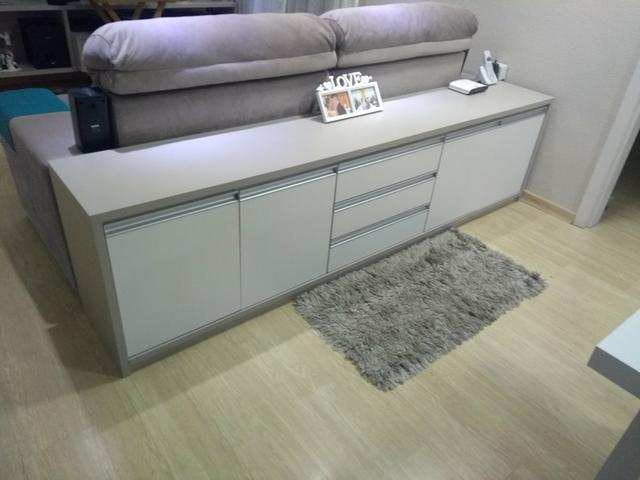 aparador de sofá - aparador com gavetas