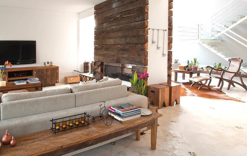 aparador de sofá - aparador de madeira
