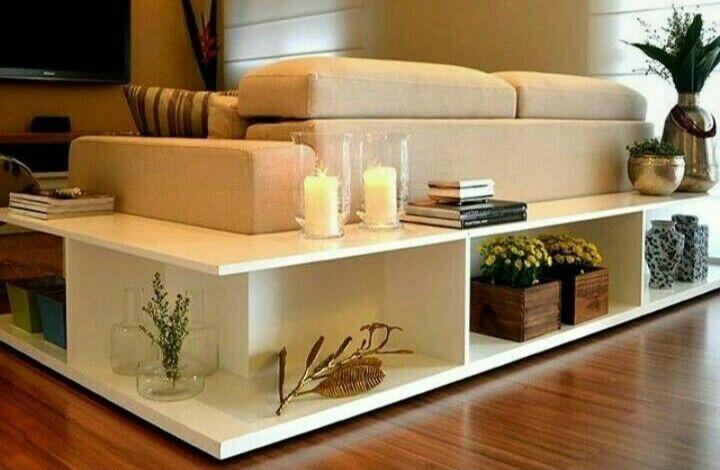 aparador de sofá - aparador de sofá branco de canto