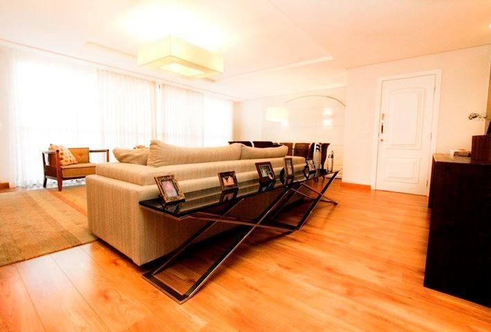 aparador de sofá - sala de estar com aparador preto