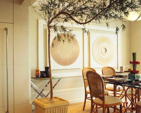 aparador de vidro - sala de jantar com aparador de vidro