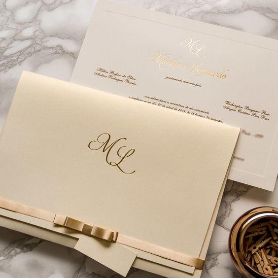 bodas de ouro - convite de festa